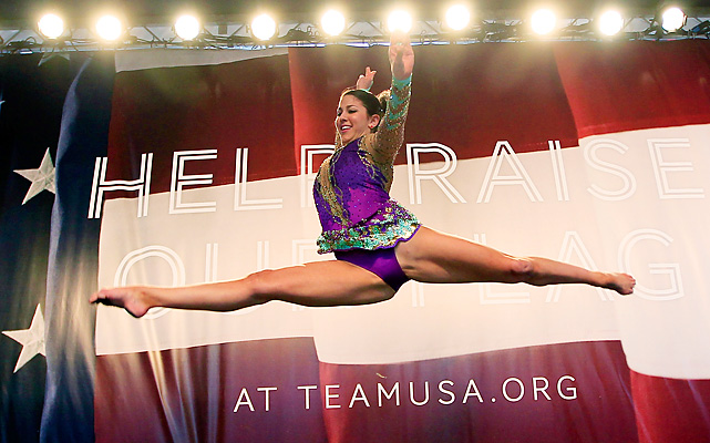 Julie Zetlin hopes to win the U.S.' first medal in rhythmic gymnastics.