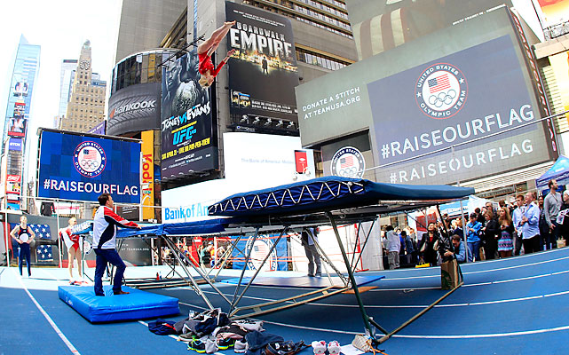 Trampoline has been part of the Olympics since 2000. Alaina Williams hopes to bring home the U.S.' first medal in the event.