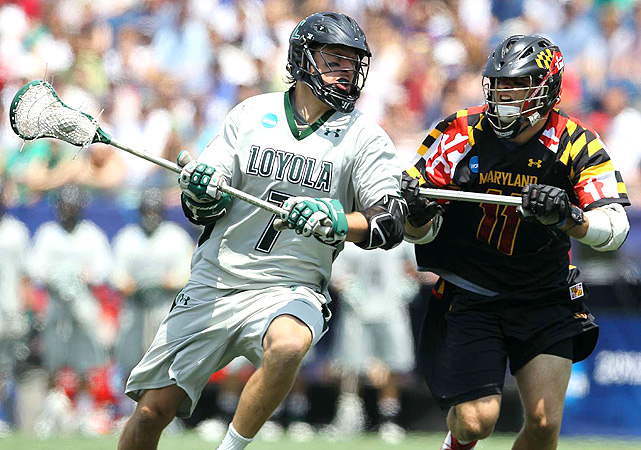 On Monday, May 28, the Loyola of Maryland Greyhounds took down the the University of Maryland Terrapins 9-3 to win the NCAA men's national lacrosse title. The Greyhounds, seeded No. 1 in the tournament, complete the season with an almost-perfect 18-1 record, and the Terrapins finish 12-6. Here are some of the best photos from the game.