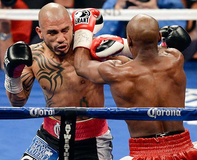 The decision was roundly booed by the crowd at the MGM Grand arena, which cheered wildly every time Cotto landed a punch.