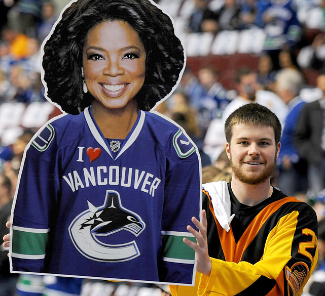 Her network may be struggling, but Oprah still has a loyal following in Vancouver.