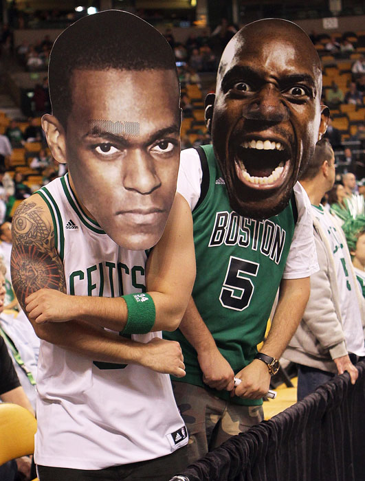 Cardboard cutouts of athletes and celebrities - often called Fatheads - are becoming commonplace in the stands of many sporting events. Whether it's to distract a free throw shooter or pay homage to an '80s child star (cough, Urkel), these oversized faces never disappoint. SI has canvassed the stands and collected the best cardboard cutouts in sports, including an angry looking Rajon Rondo and Kevin Garnett.