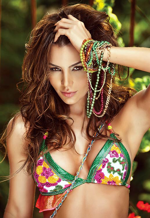 On Monday, Colombian model Natalia Velez was featured as Hot Clicks' Lovely Lady of the Day. Due to overwhelming reader demand, we were forced to give Hot Clicks Nation more Natalia. Here is a photo gallery of never-seen-before pictures.