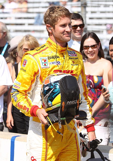 It's been quite a turnaround for the Andretti Autosport driver who missed the cut for the 2011 Indianapolis 500 on Bump Day. Hunter-Reay was able to get back into that race with the help of team owner Michael Andretti, but Hunter-Reay needed no such help this year as he was one of the favorites to win the pole on Pole Day. The driver from Hollywood, Fla., came close with a four-lap average of 226.240 miles per hour in a Dallara/Chevrolet. Hunter-Reay has five career victories, including three in the IZOD IndyCar Series and two in CART/Champ Car. He finished sixth in his first Indy 500 in 2008 and was 23rd last year after starting last in the 33-car field.