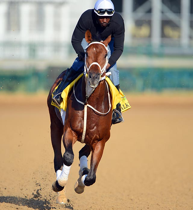 This late runner from the Hamilton Smith barn was almost 13-1 when he rallied from 12th to beat a very weak field in the Illinois Derby on April 7, earning his spot in the Kentucky Derby starting gate. The race before that he was 19-1 when finishing more than 20 lengths behind Hansen in the Gotham Stakes. What will his price be on Saturday? Though he opens at 50-1, it's likely that bettors will drive the price down as few horses have gone off at astronomical odds since Mine That Bird's 2009 shocker at 50-1.