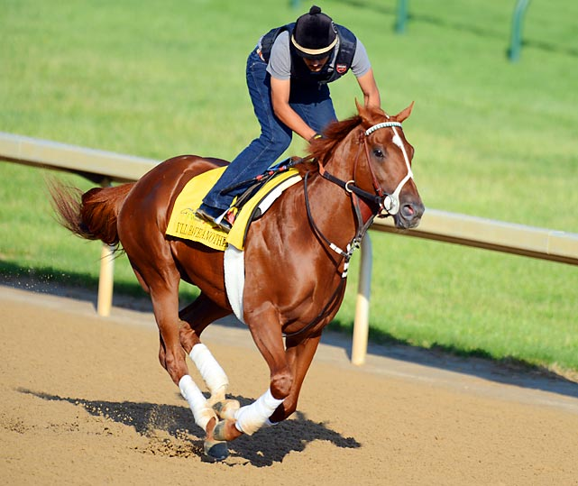 """Owner Paul Reddam says that whenever his wife, Zillah, bakes a batch of cookies, he tells her, """"I'll have another."""" That's how this horse got his name, and he has proved he has the game to go with the name. Aside from one poor start in the slop at Saratoga last September, I'll Have Another has always fired, with three wins and one second in four starts. His tactical speed should give him the ability to carve out a preferred trip and be ready to pounce on the leaders at the top of the stretch."""