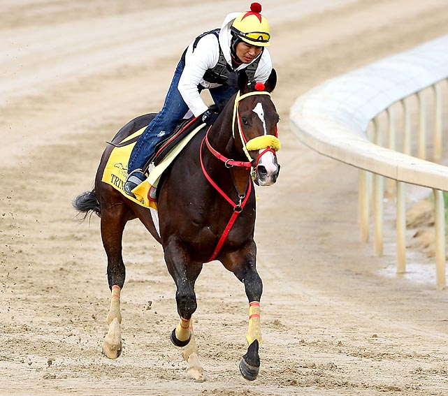 The connections of Trinniberg have been criticized heavily for entering the Kentucky Derby, given that this son of Teuflesberg has never raced beyond seven furlongs. Though he's two-for-two this year, both races have been sprints and nothing suggests that he'll be able to get the Derby's 10-furlong distance. The likely pacesetter, he'll be long gone once the real running gets started.