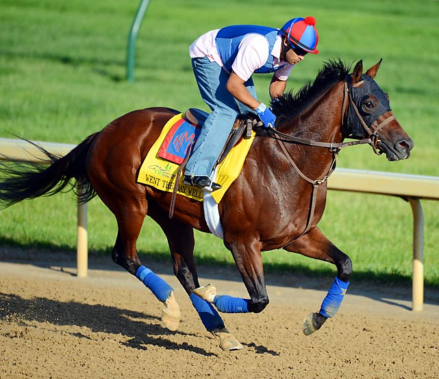 He's trained by Graham Motion and owned by Team Valor, and in his last prep for the Kentucky Derby he won the Spiral Stakes coming from just off the pace. Sound familiar? The same could be said about last year's Derby winner, Animal Kingdom, and because of that, Went the Day Well is being touted as another possible Derby winner from Team Valor. The difference between the two horses is that Animal Kingdom put in a visually impressive work the week of the Derby whereas Went the Day Well has not.