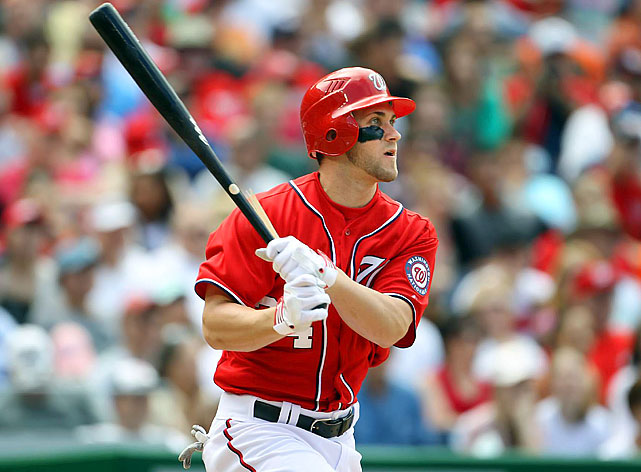 Bryce Harper went 2-for-4 with three runs scored, two RBI and a triple, helping the Nationals avert a three-game sweep.