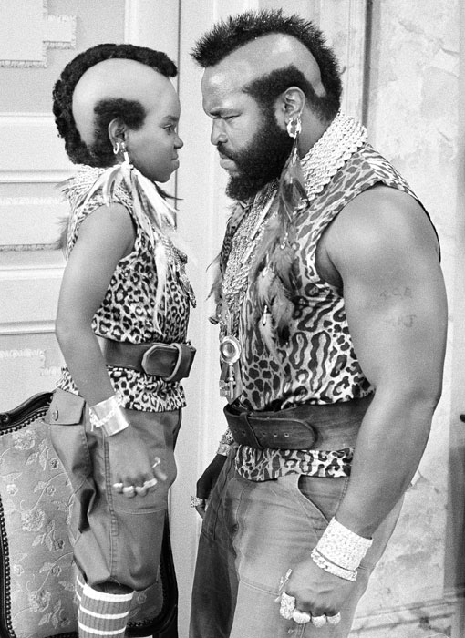 After Rocky III, T became a household name and was quickly cast as B.A. Baracus in the NBC series  The A-Team . He also guest-starred in several prime time sitcoms including  Diff'rent Strokes , where he stood face-to-face with 4-foot-7 Gary Coleman.