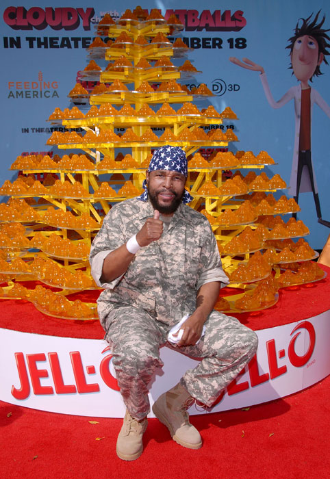 Mr. T likes his Jell-O.