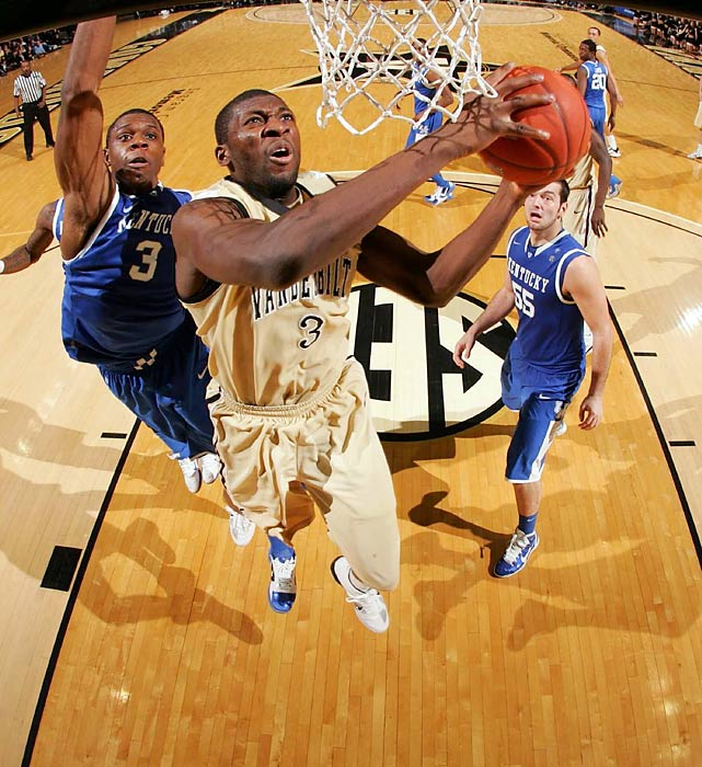 Ezeli started slowly as a senior because of a suspension for accepting improper benefits and a sprained knee, and his numbers fell slightly across the board from his breakout junior season. But he could still be a first-round pick because of his size, quickness and shot-blocking ability. Ezeli could have plenty of untapped potential: The Nigeria native is a late bloomer who averaged fewer than 13 minutes per game as a freshman and sophomore and fewer than 24 as a junior and senior.