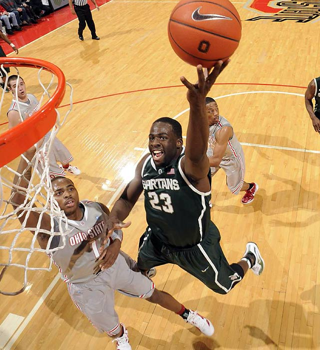 One of three players in Michigan State history with more than 1,000 points and 1,000 rebounds, Green has emerged as a model of versatility. He can score, pass and rebound, a trio of tools that helped the Spartans clinch a No. 1 seed in 2012. Green is undersized and athletically limited, but he seems to have the multifaceted skill set to make up for it. Scouts see him as a late first-round or early second-round pick and potentially a high-impact bench player as a rookie.
