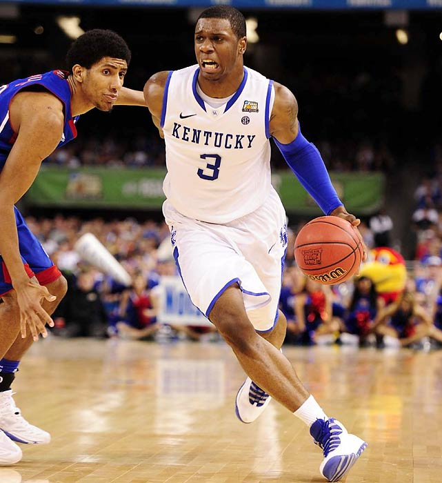 Sometimes overlooked behind Kentucky's history-making freshmen, Jones was an enigma during the Wildcats' run to the title. He alternated between dominating and disappearing, displaying uncommon versatility before checking out for minutes at a time. Jones needs to improve his three-point shot (he shot just 32.7 percent in 2011-12), but boasts the athleticism and upside of a lottery pick.