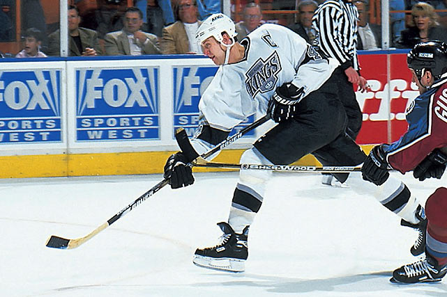 The cornerstone blueliner spent 14 seasons with the Kings after they chose him with the 70th overall pick in the 1988 NHL Draft. During his time with the team, he was a four-time All-Star and the winner of the 1997-98 Norris Trophy as the NHL's best defenseman. He was traded to Colorado in February 2001, but returned as a free agent in July 2006, spending two more seasons in LA. He ranks fourth all-time in games played and penalty minutes for the Kings.