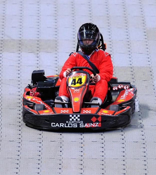 Mario Kart, tennis edition.
