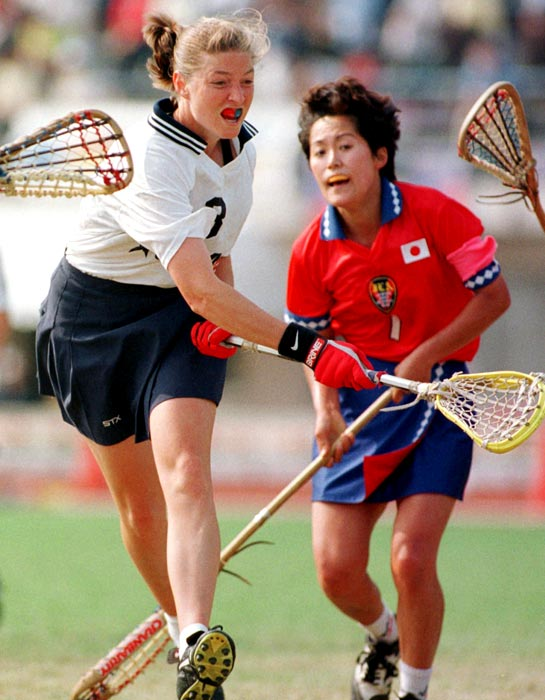 After leading the University of Maryland to consecutive national lacrosse championships in 1995 and 1996 -- and earning a pair of Player of the Year awards during the same span -- the Terps all-time leader in career goals, assists and points headed to Northwestern to take over its program as head coach. Under Amonte's leadership, in 2011 the Wildcats won their sixth title in seven years. She is a two-time National Coach of the Year.