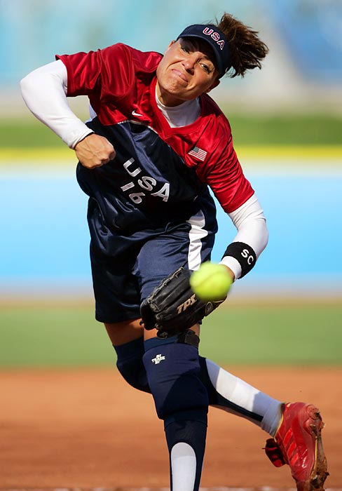 Lisa Fernandez, born the year before Title IX was passed, led the UCLA softball team to four straight NCAA championships appearances, beginning in 1990, and helped it to the national title in '92 and '90. She also led the U.S. softball team to three straight Olympic gold medals, in 1996, 2000 and 2004.