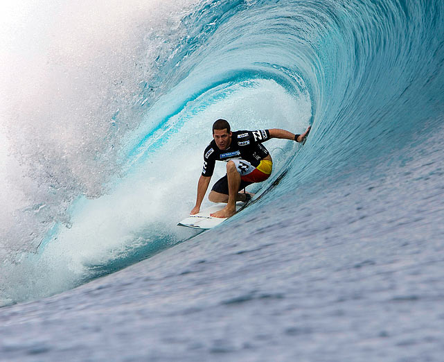 The professional surfer died on Nov. 2, 2010, in Dallas at the age of 32.  He reportedly was battling with dengue fever at the time, but officials have not yet given a precise cause of death.