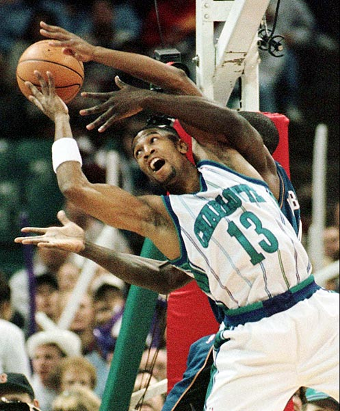 The Charlotte Hornets guard died in a car accident after his Porsche spun into oncoming traffic. He was following teammate David Wesley at the time, and there were rumors the two were drag racing. Wesley was cleared on the racing charge but convicted of reckless driving.