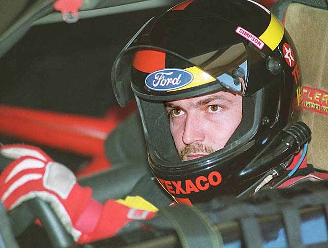 NASCAR driver Davey Allison was killed after a helicopter he was piloting crashed on the infield at Talladega (Ala.) Superspeedway.