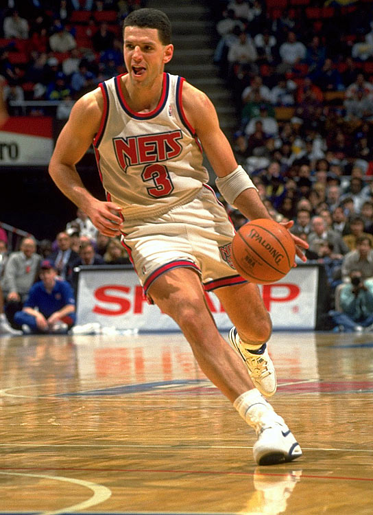 One of the first European players to make the move to the NBA, Petrovic died in a car accident on the Autobahn in Germany when he was only 28.