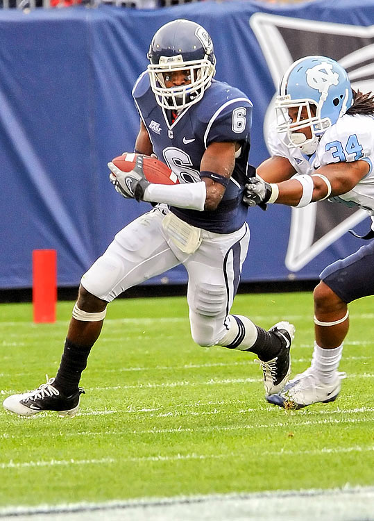 Howard, a cornerback for the University of Connecticut, died when he was stabbed outside of a UCONN function only hours after the team's victory over Louisville.