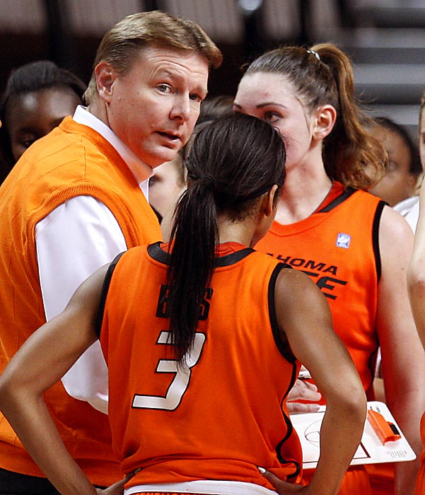 Oklahoma State women's basketball coach Kurt Budke and assistant coach Miranda Serna were killed Nov. 17 when a single-engine plane carrying them to a recruiting trip crashed in central Arkansas. In January 2001, 10 men affiliated with the school's men's basketball team died in a plane crash in Colorado.