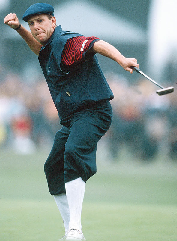 A plane carrying Payne Stewart, winner of the 1989 PGA Championship and a two-time U.S. Open winner, went down two miles west of Mina, S.D.