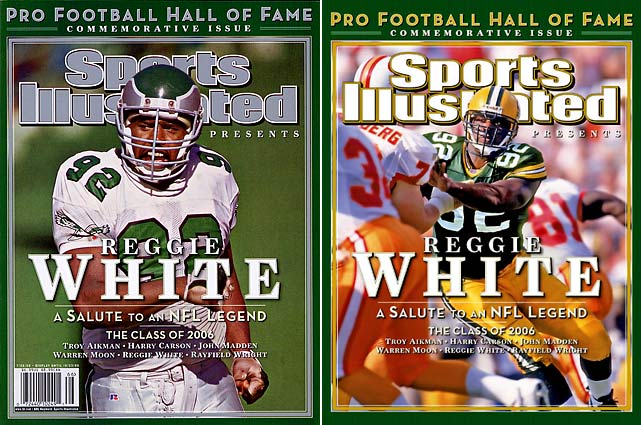 One of the greatest defensive ends ever, White's death from a heart attack stunned the football community. The 10-time Pro Bowl defender and former Eagle, Packer and Panther was rated by NFL.com as the seventh greatest player ever. White died at 43.