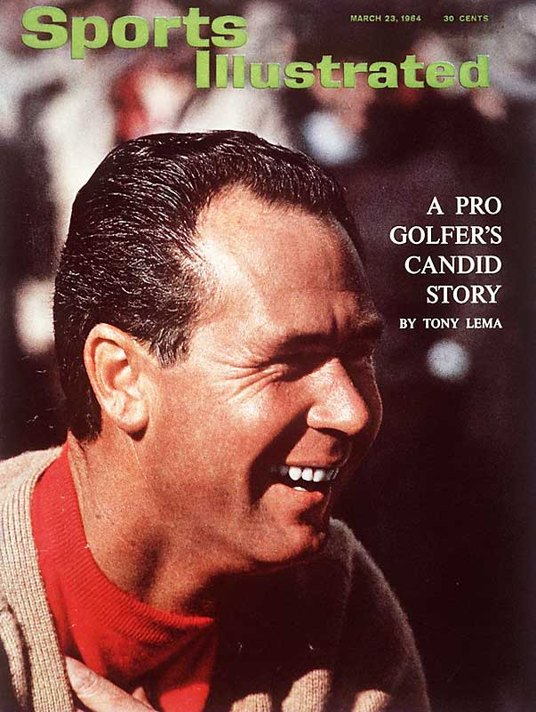 Tony Lema, 1964 British Open champion, died when the twin-engine plane he was riding in ran out of fuel and crashed in Munster, Ind.