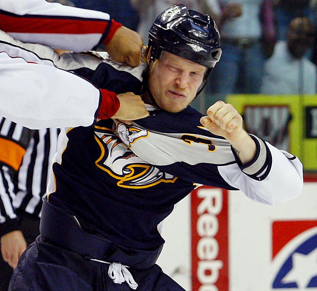 The former winger, who played 549 career games for five NHL teams from 1997 to March 2011, was found dead at a hotel-condominium complex in Toronto. While no official cause of death was immediately released, it was reported in Canadian media that Belak was an apparent suicide by hanging. He was the third NHL enforcer to die suddenly during the summer of 2011, raising the spectre of the effects of fighting on the brain and a possible link to depression.
