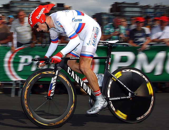 Menchov, who finished second in the 2010 Tour de France (after Contador was stripped of his title), could sneak up on the leaders in the mountain stages. Also an excellent time trialist, the Russian will take advantage of the many time trials in 2012.