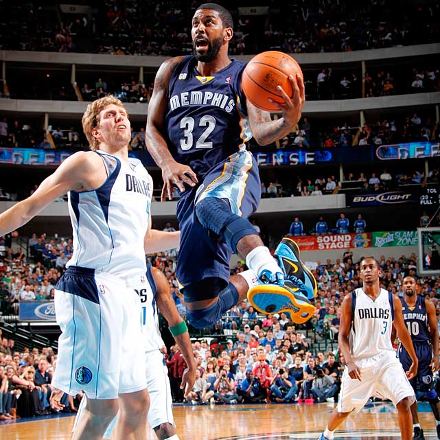 Age:  24    Position:  Shooting Guard   2011-12 Team:  Grizzlies    2011-12 Stats:  12.6 ppg, 3.2 rpg, 2.6 apg   Skinny:  Mayo's four years in Memphis have been both tumultuous (he was nearly traded at the deadline in each of the last two seasons) and productive (he was one of the NBA's top sixth men last season). The small-market Grizzlies -- who have made big, long-term commitments to Rudy Gay, Zach Randolph, Marc Gasol and Mike Conley -- may be hard-pressed to keep him.