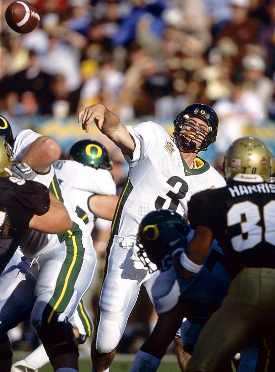 This remains one of the most confusing years for the BCS, as Oregon and Colorado appeared to be viable candidates for the BCS championship, but lost out to Nebraska, a team Colorado defeated 62-36 in the final week of the regular season. Oregon may have been the team most unfairly left out, though Colorado's Gary Barnett was the most vocal about his team's exclusion.