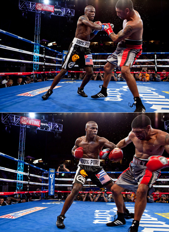 Quillin pressured the 40-year-old Wright from the opening bell, knocking him to the canvas with a looping right hand in the fifth round, hurting him with an uppercut in the ninth and coasting to a unanimous-decision victory.