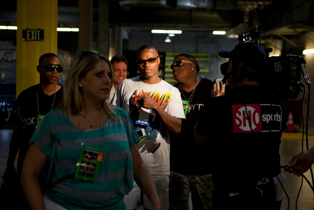 Waiting for a TV cameraman to track his entrance to the stadium is a relatively new practice for Quillin, who made his HBO debut last year. After winning his first 21 pro fights, Quillin changed management in 2010, signing with Golden Boy Promotions to make faster progress toward big purses.
