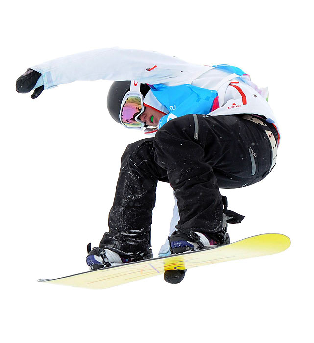 Gold won silver in the halfpipe and slopestyle events at the inaugural Winter Youth Olympics in Austria in January and followed that with gold in the halfpipe at the Junior World Championships in Spain in March. Now 16, she has not shied away from increasingly complex tricks, and has walked away with some notable hardware as a result. In her first run of the 2012 Youth Olympics, Gold initially planned an easy first run before seeing some surprise tricks from her competitors. In response, Gold opted to launch her best trick, a frontside 900, in what was essentially an audition. She didn't cleanly land the 900, but still won silver after showcasing a series of advanced tricks. Gold will enter several Olympic qualifying events this fall to put herself in contention for the 2014 Games.