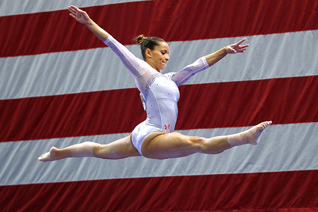 Sacramone is the team's oldest competitor at 24.  She has been on the women's national team since 2003, and is the most decorated U.S gymnast in the history of the world championships.  Her overall medal count in professional competition puts her at 16 gold's, eight silvers, and eight bronzes.