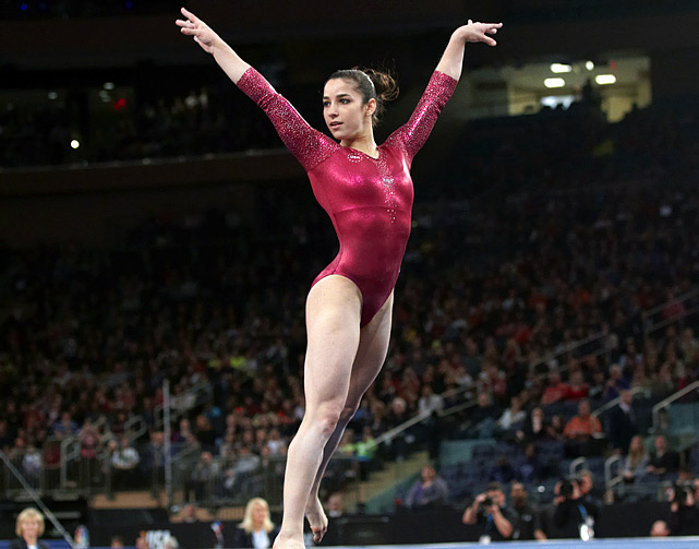 Raisman is an 18-year-old out of Needham, Mass.  She has been on the national team since she was 15, and has accumulated a large stack of medals (18 total).  She is seeking her first Olympic berth.