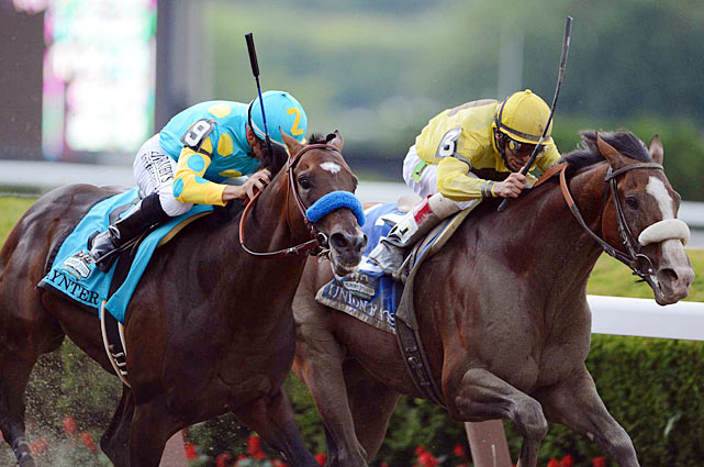 ''I have to give it to the horse. He did it all for me. He just worked so unbelievable and I was just hoping he could put that work into today's race and he did,'' said Velazquez, who will enter racing's Hall of Fame in August. ''I was very proud of him.'''