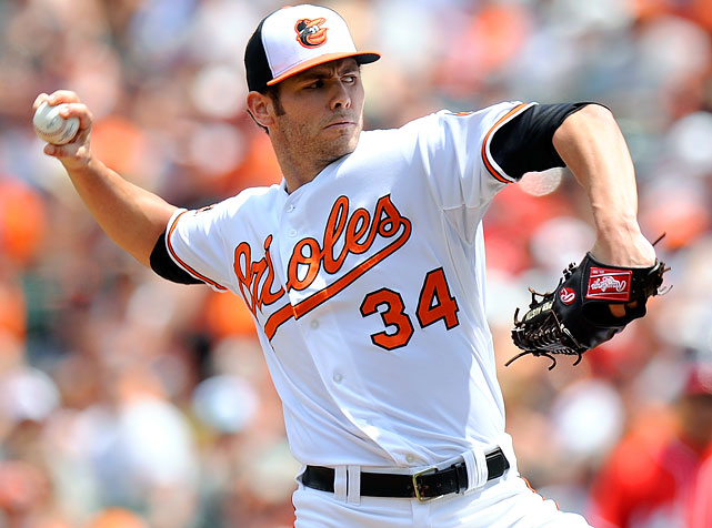 Jake Arrieta gave up one run and five hits in six innings, and it still took an unlikely comeback by the Orioles for him to avoid becoming the first 10-game loser in the big leagues this season.  Baltimore won the season's interleague series with Washington 4-2.