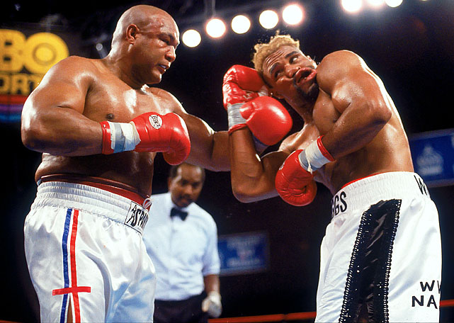 "The 48-year-old Foreman still held the lineal heavyweight championship when he lost a majority decision to Briggs which prompted thunderous boos and curses from the crowd. ""I'm not going to cry like a baby,"" said Foreman, who announced his retirement after the verdict came down."