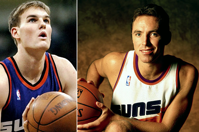 If Donnie Nelson hadn't won Executive of the Year after his second draft-day home run, there should have been an investigation. Garrity lasted one season in Phoenix before being traded to Orlando, where he crafted a role as a three-point specialist. Nash, then a third-year guard, helped make the Mavs a postseason regular before going legend-mode in Phoenix, where he later won back-to-back MVP awards.