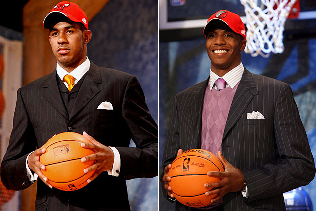"""While Thomas had impressed at LSU and in pre-draft workouts, Aldridge had acquired a """"soft"""" label. In seven seasons since, Aldridge has grown into an All-Star while averaging 18.3 ppg, 7.8 rpg while posting a true shooting percentage of .537. Thomas was traded four years later to Charlotte for Acie Law, Flip Murray and a future first-round pick, and has crafted a career as a defensive-minded reserve."""