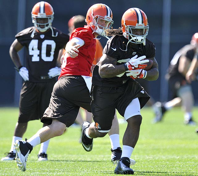 First-round draft picks Trent Richardson and Brandon Weeden are expected to start for the 4-12 team.  With two rookies at the helm, the Browns could either be a welcome surprise, or perhaps even fall short of four wins.