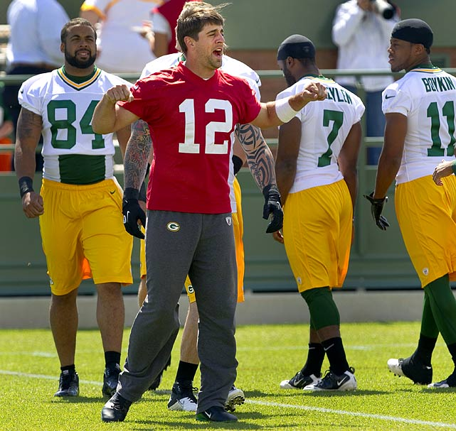 Though they had the best regular-season record in the NFL last season, the Packers and Aaron Rodgers want to start proving at their camp in De Pere, Wisc., that last year's quick playoff exit was an aberation.