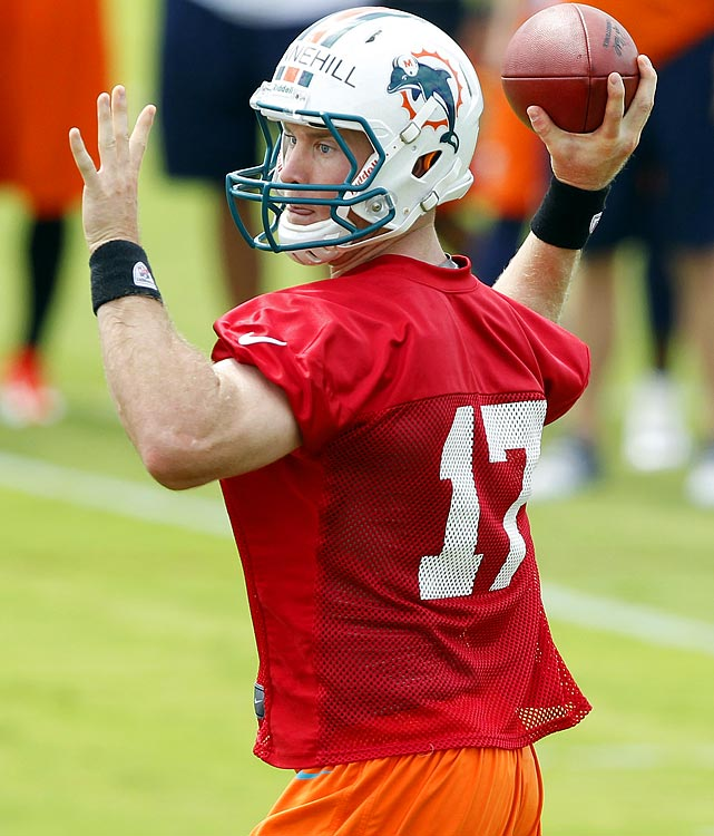 Rookie QB Ryan Tannehill will have a lot to prove when camp opens up at Nove Southeastern University, and he'll have to deal the possible distractions of Ochocinco and the HBO Hard Knocks cameras.