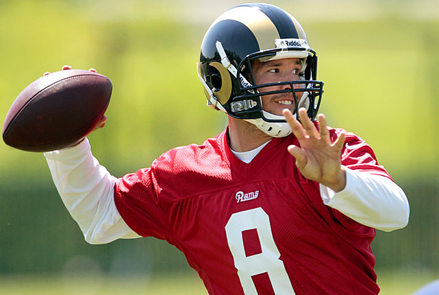 Sam Bradford has to erase any memories of last year's 2-14 season before he comes to camp in Earth City, Mo.  Bradford and the Rams are getting a fresh start and another new system this fall.