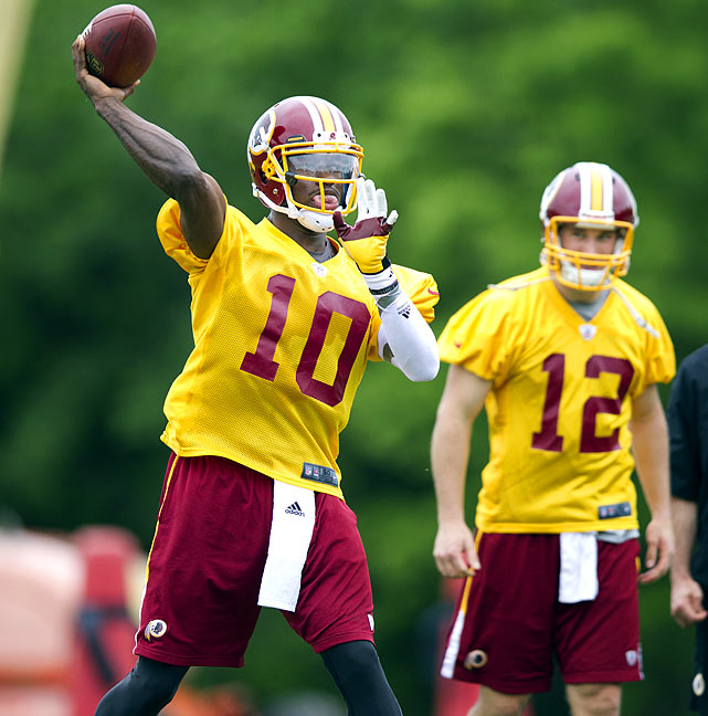 No. 2 overall pick Robert Griffin III has been grabbing all of the headlines coming into the Redskins Park training camp. Fans and coaches alike hope he translates more into a Cam Newton type than a Vince Young.